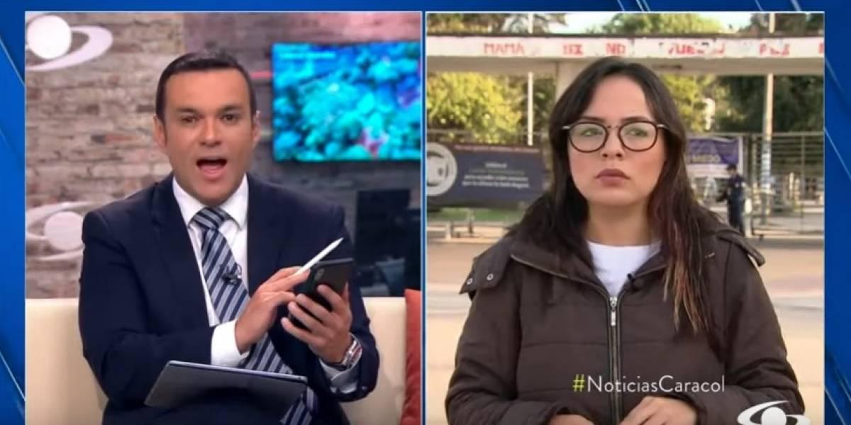 Líder estudiantil dejó callado a Juan Diego Alvira al responder pregunta sobre el paro