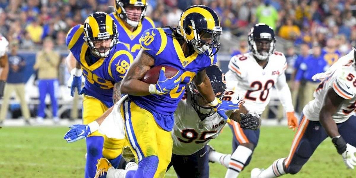 Con ataque terrestre Rams vencen a Bears