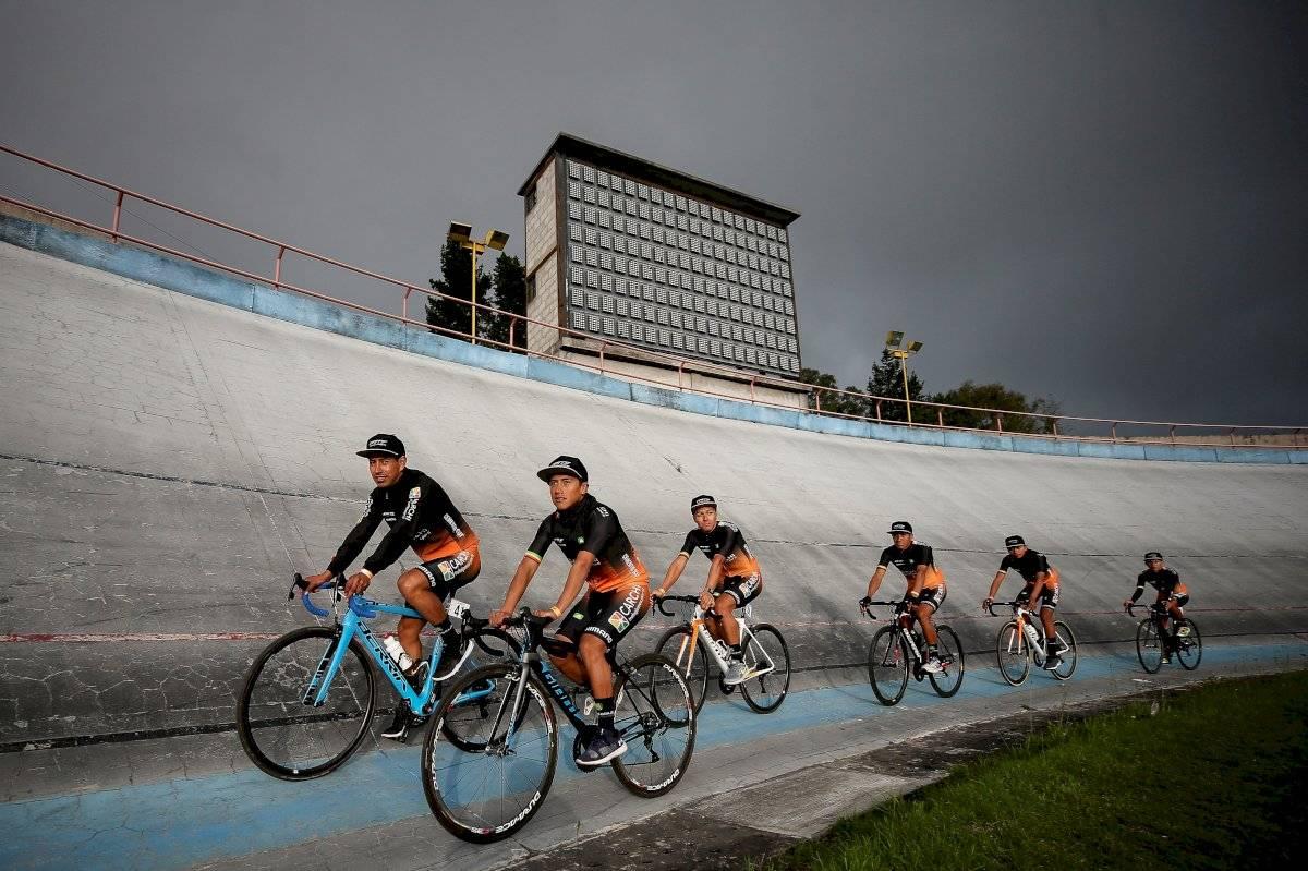 Sebastián Novoa ganó la primera etapa de la Vuelta Ciclística a Ecuador EFE