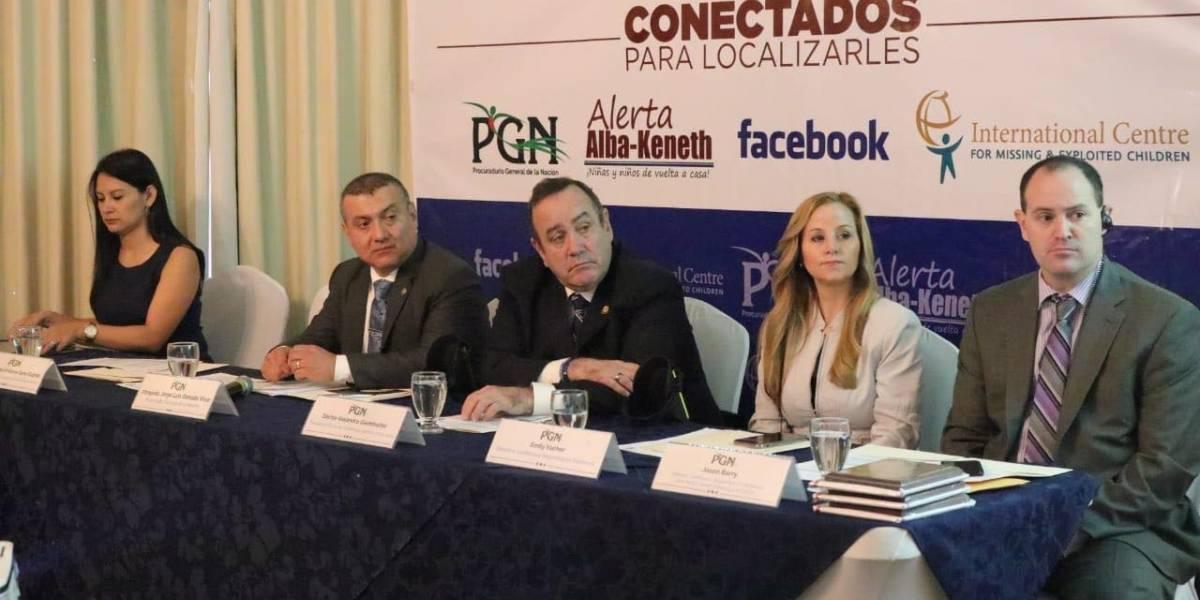 Facebook implementa búsqueda de niños y niñas con alerta Alba-Keneth