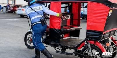 Guayaquil: 35 tricimotos fueron retenidas por la ATM