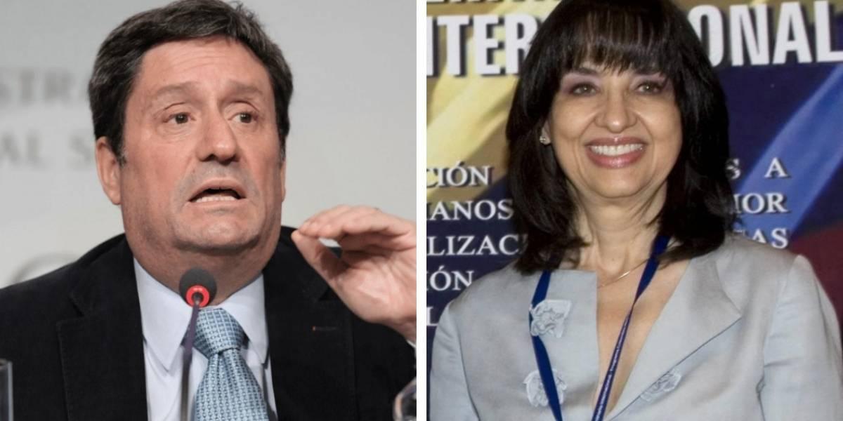 Exclusivo: audios de polémica charla entre embajador Francisco Santos y la nueva canciller Claudia Blum