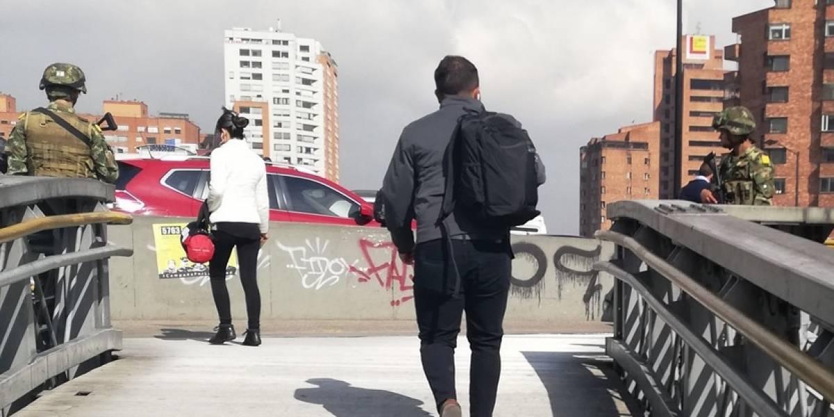 Bogotá militarizada a pocas horas del paro del 21 de noviembre