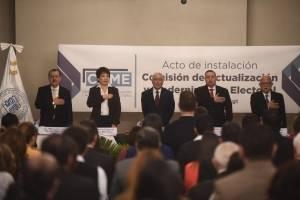 TSE instala comisión de actualización y modernización electoral