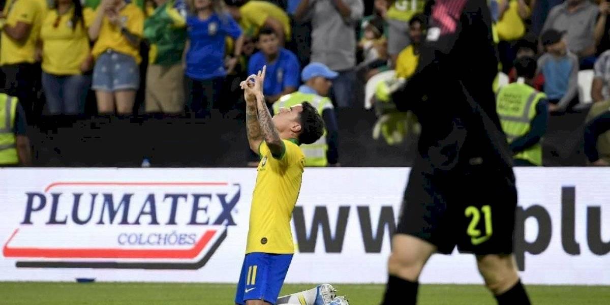 VIDEO. Con espectacular gol de Coutinho, Brasil golea a Corea del Sur