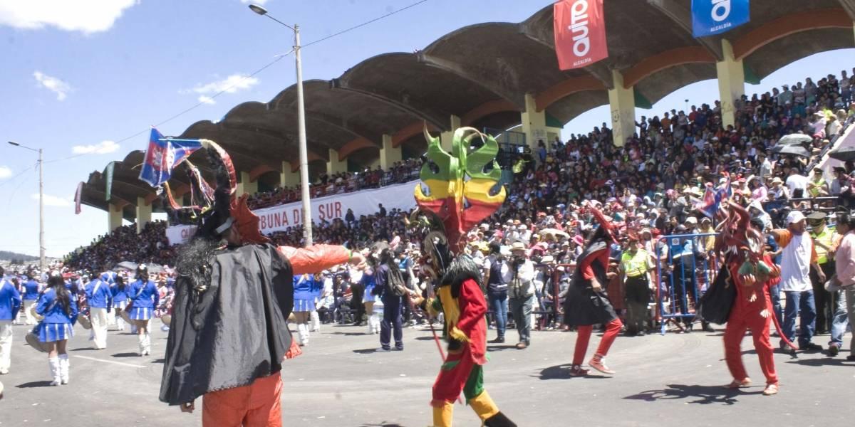 Estos serán los desfiles programados para Fiestas de Quito 2019