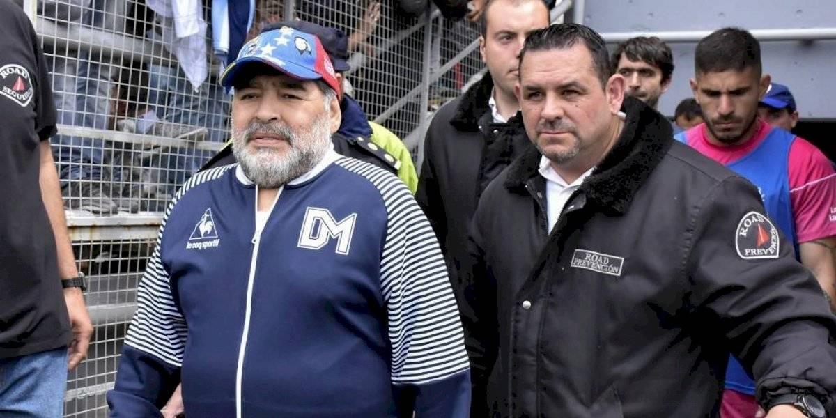 Maradona queda fuera de Gimnasia