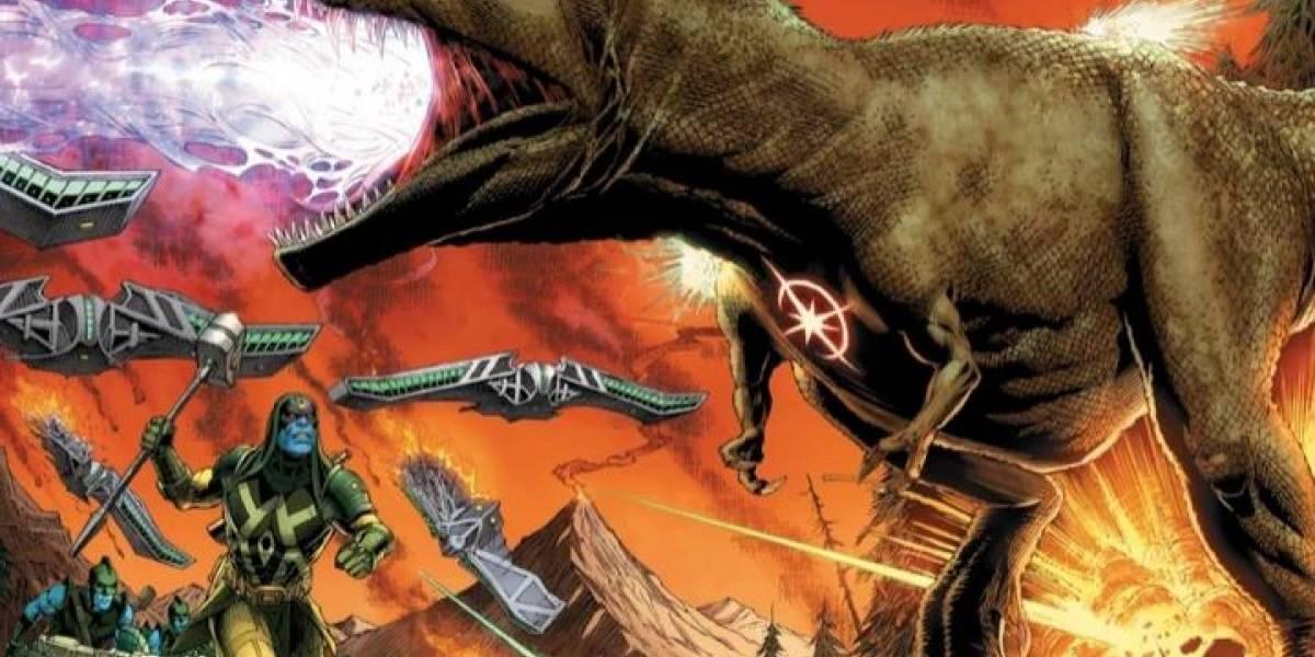 Un Tiranosaurio Rex fue el primer héroe de Marvel