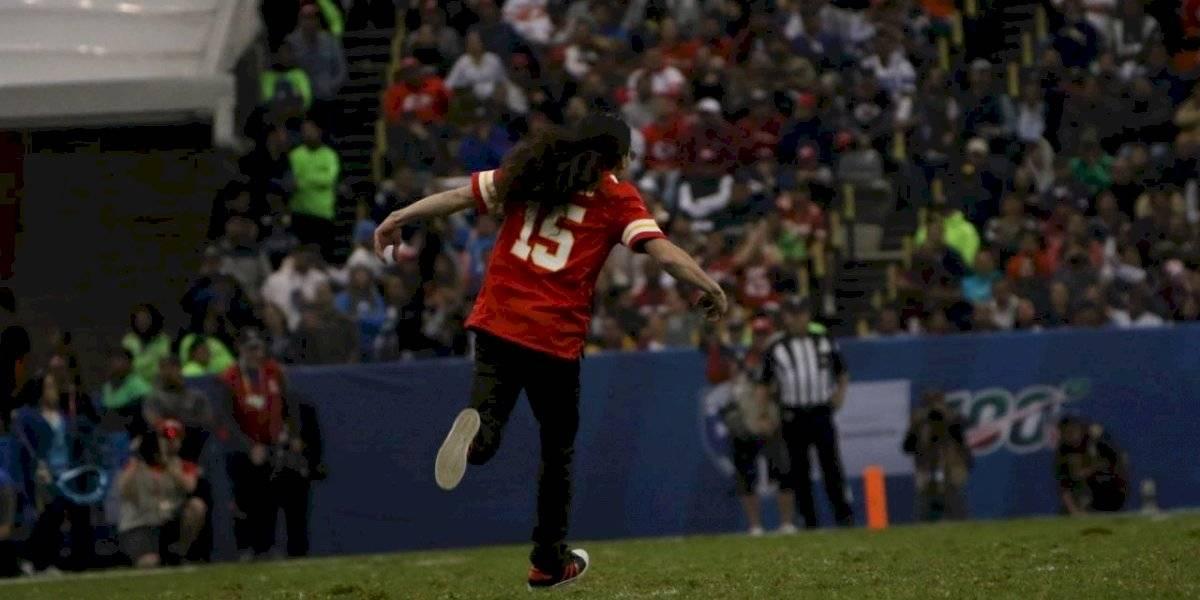 Espontáneo interrumpió el Chiefs vs. Chargers de la NFL