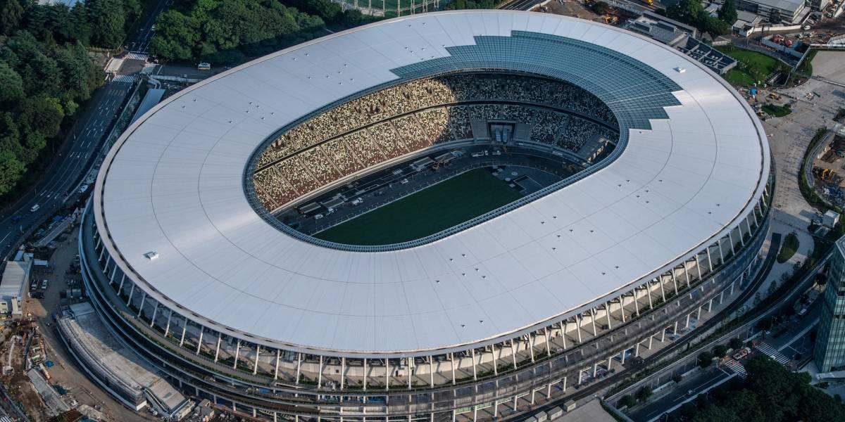 Listo el Estadio Nacional de Japón para los Juegos Olímpicos 2020