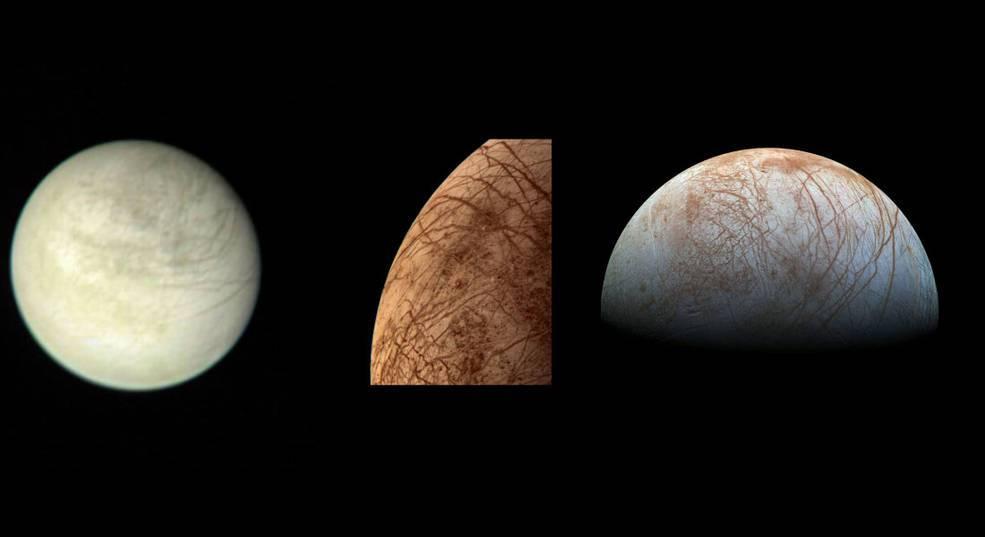 Científicos de la NASA confirman vapor de agua en la Luna de Júpiter llamada Europa