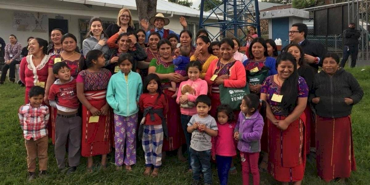 Fundación empodera a mujeres para luchar contra la desnutrición crónica