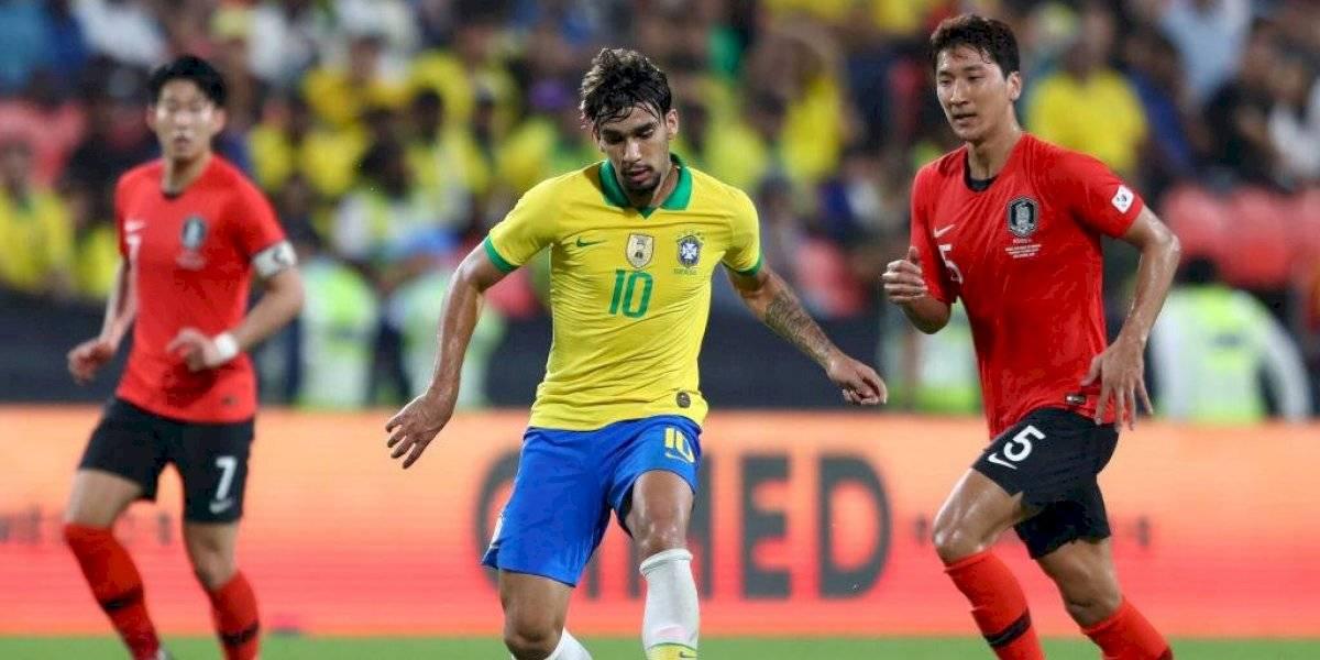 Brasil rompió su mala racha tras la Copa América con sólida goleada sobre Corea del Sur