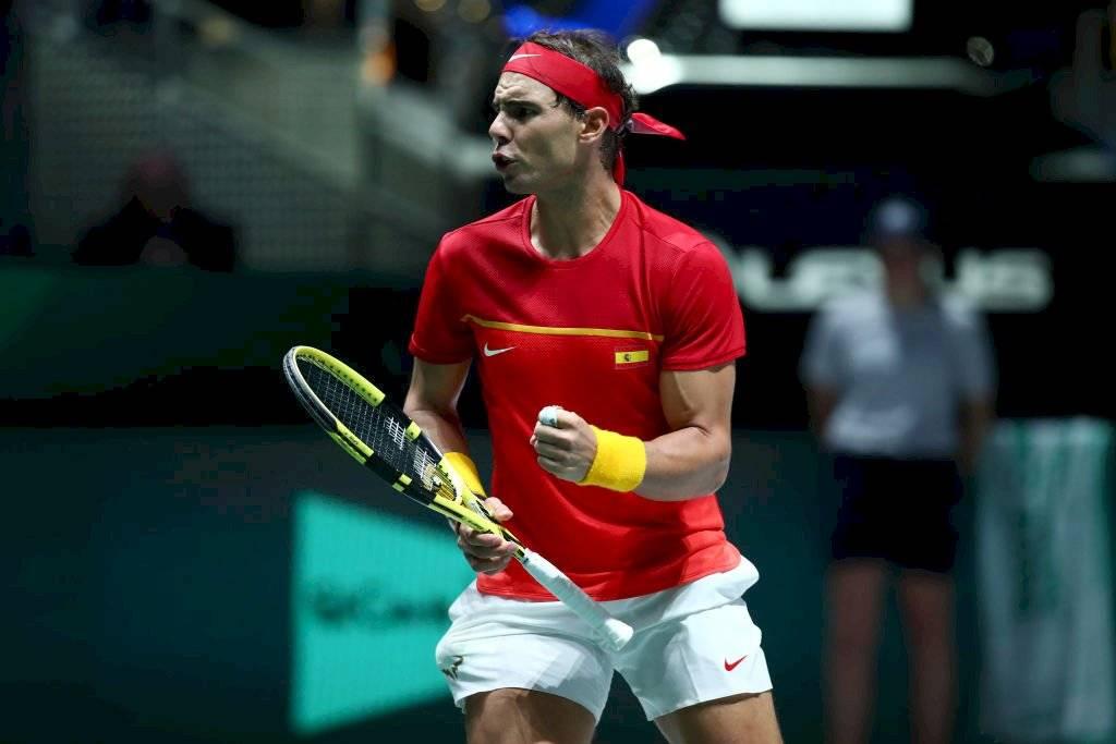 Nadal ganó para España