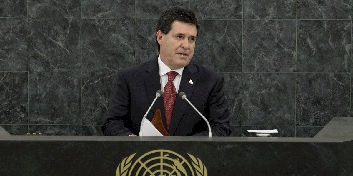 Acusan a ex presidente de Paraguay de integrar una banda delictiva