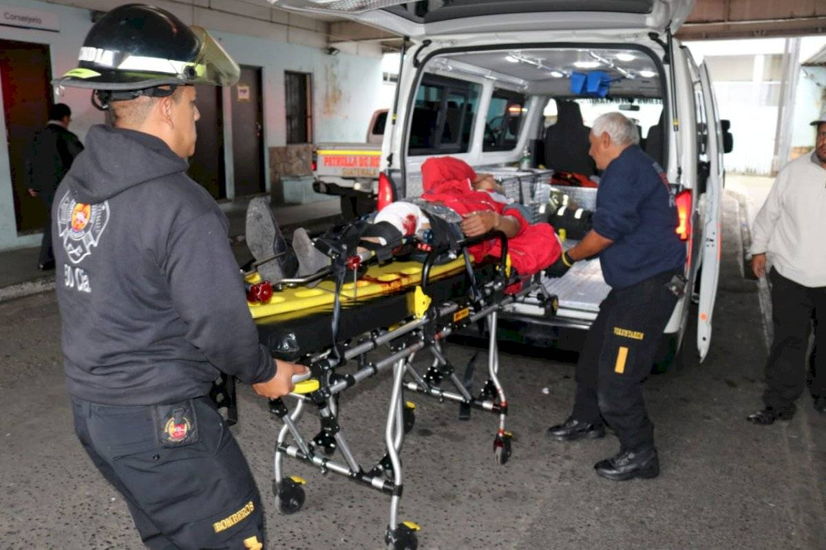 trabajador de gasolinera herido en zona 5