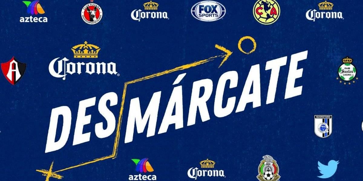 Corona, afición y el futbol mexicano, unidos por el progreso del país.