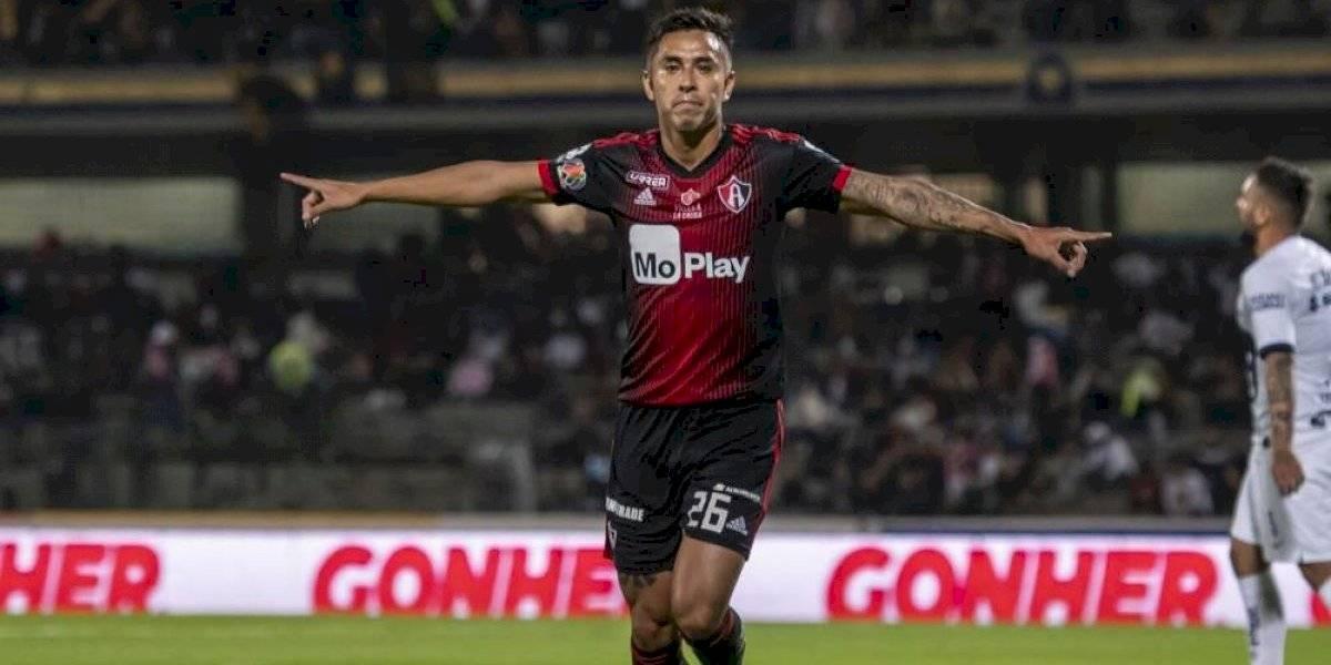 Jesús Isijara quiere quedarse en el Atlas para el Clausura 2020