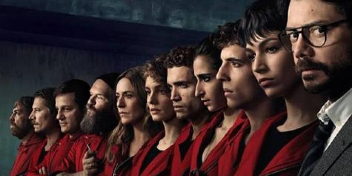 Serie 'La casa de papel' ganadora de los XXI Premios Iris de la Televisión