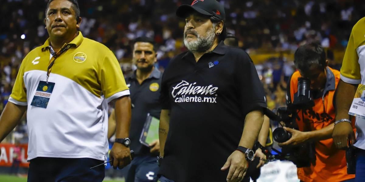 Dorados va con todo por el regreso de Maradona