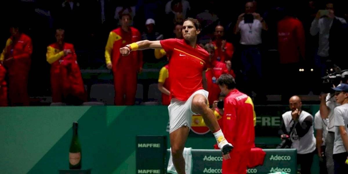 España supera a Rusia en la Copa Davis