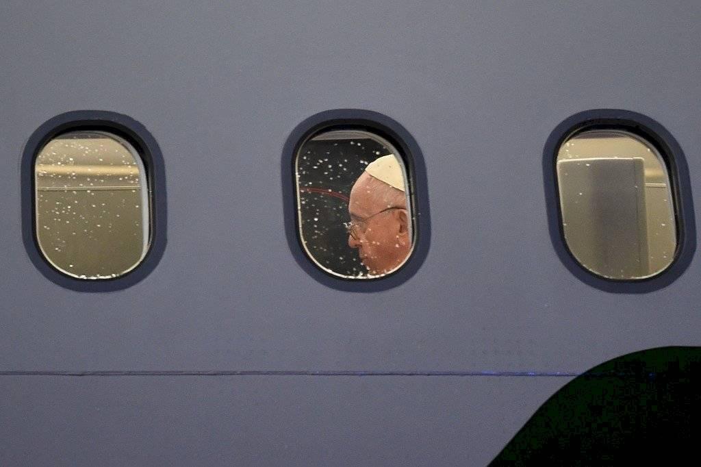 Papa Francisco parte rumbo a Tailandia