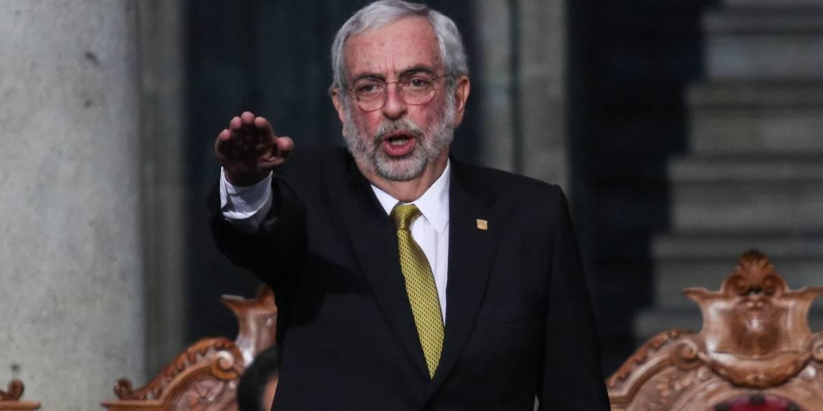 Graue va contra violencia y acoso en la UNAM