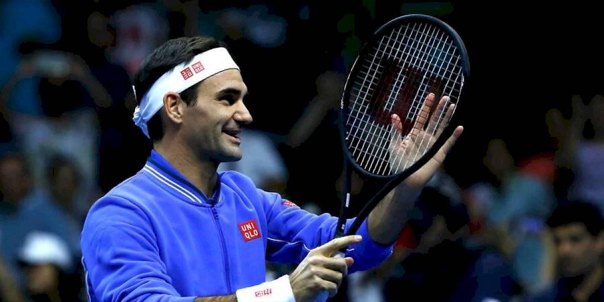 Su Majestad Roger Federer coronó una gran exhibición en Chile y se quedó con el triunfo ante Alexander Zverev