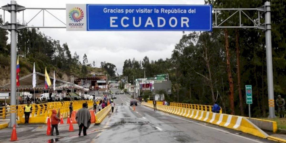 Colombia analiza la reapertura de la frontera terrestre con Ecuador a partir de noviembre