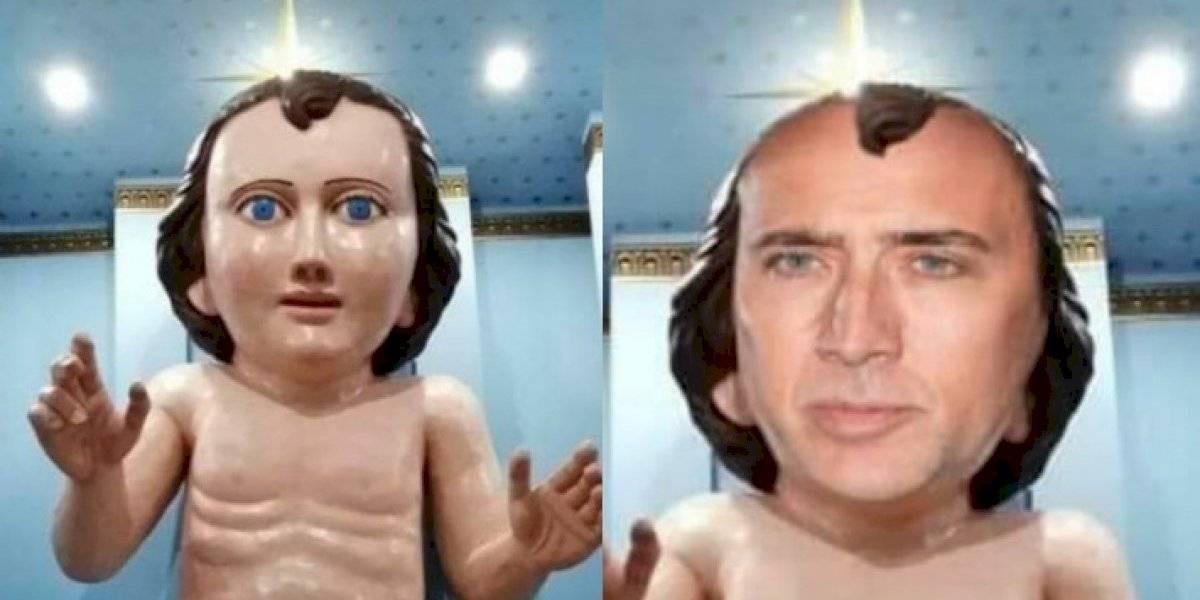 Niño Dios gigante de Zacatecas desata burlas en internet