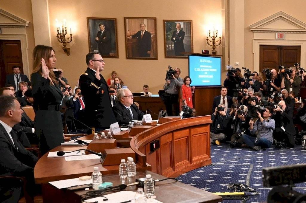 Audiencias públicas en la Cámara de Representantes de Estados Unidos