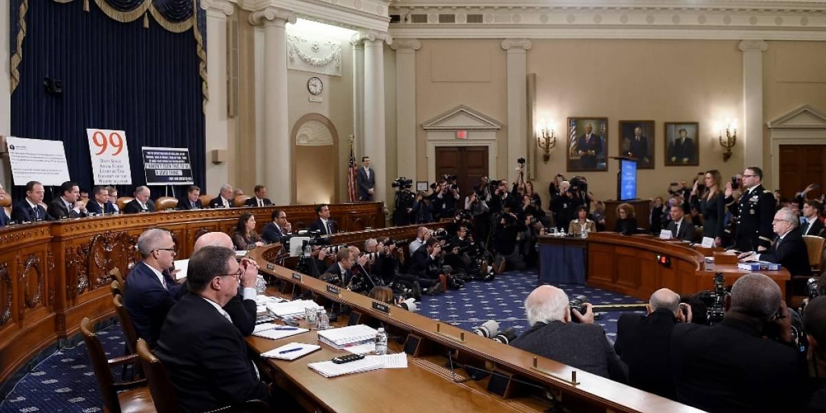 Segunda tanda de audiencias aumenta presión sobre Trump