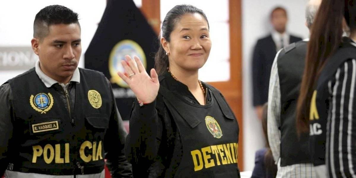 Perú decidirá excarcelación de Keiko Fujimori la próxima semana