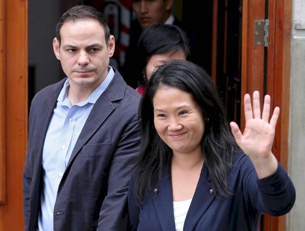Mark Vito y Keiko Fujimori