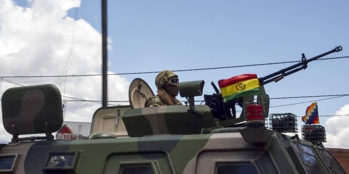 VIDEOS. Operativo militar en planta boliviana deja al menos un muerto