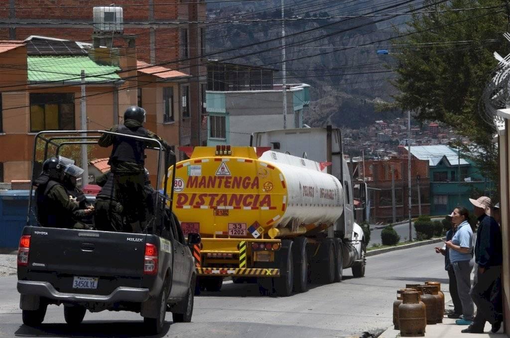 Operativo militar en Bolivia