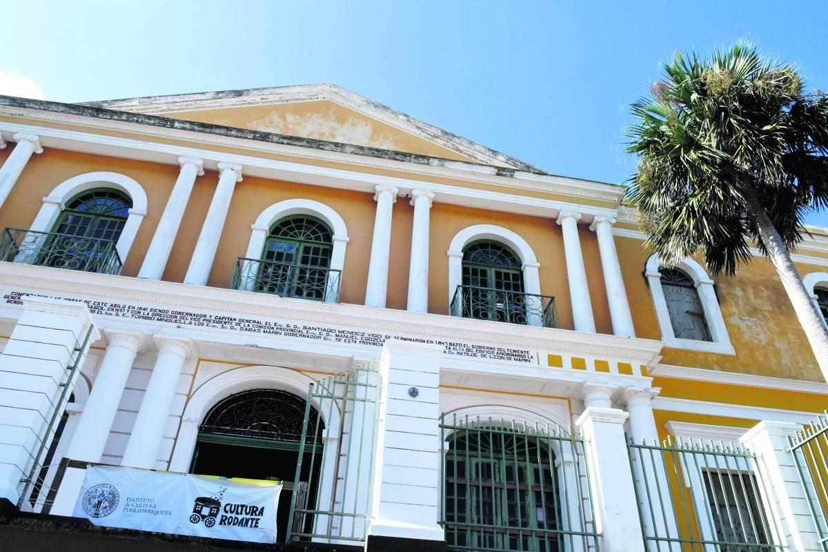 Nada en informe de transición sobre hotel en sede de Instituto de Cultura