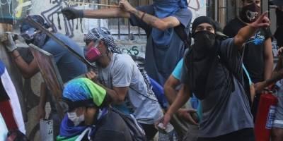 Nuevos enfrentamientos entre manifestantes y fuerzas de seguridad en Chile