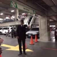 Accidente en Oakland Mall