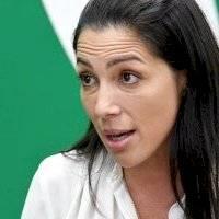 Alexandra Lúgaro reacciona a indulto de su exesposo