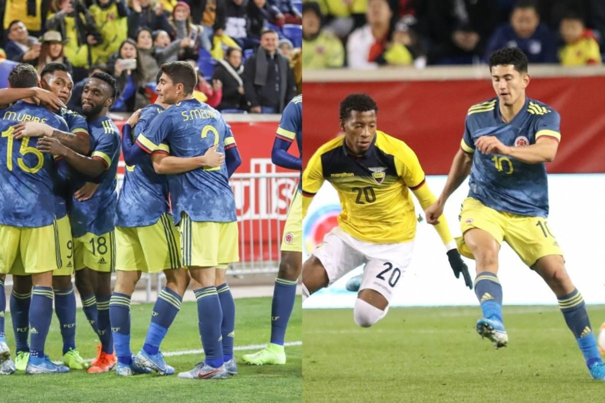 VIDEO | 'LA TRICOLOR' le ganó a Ecuador, pero los hinchas ...