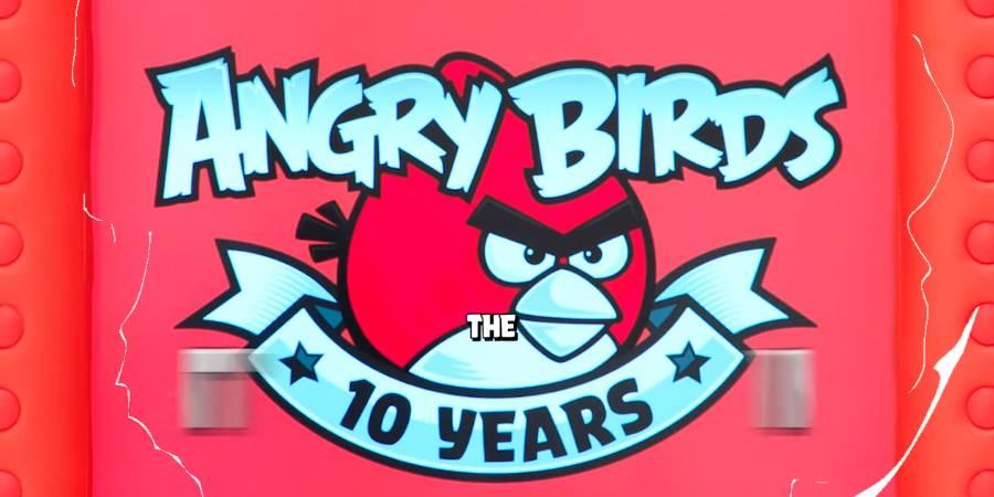 Angry Birds cumple una década y lo celebra con una máquina que te premia si la golpeas
