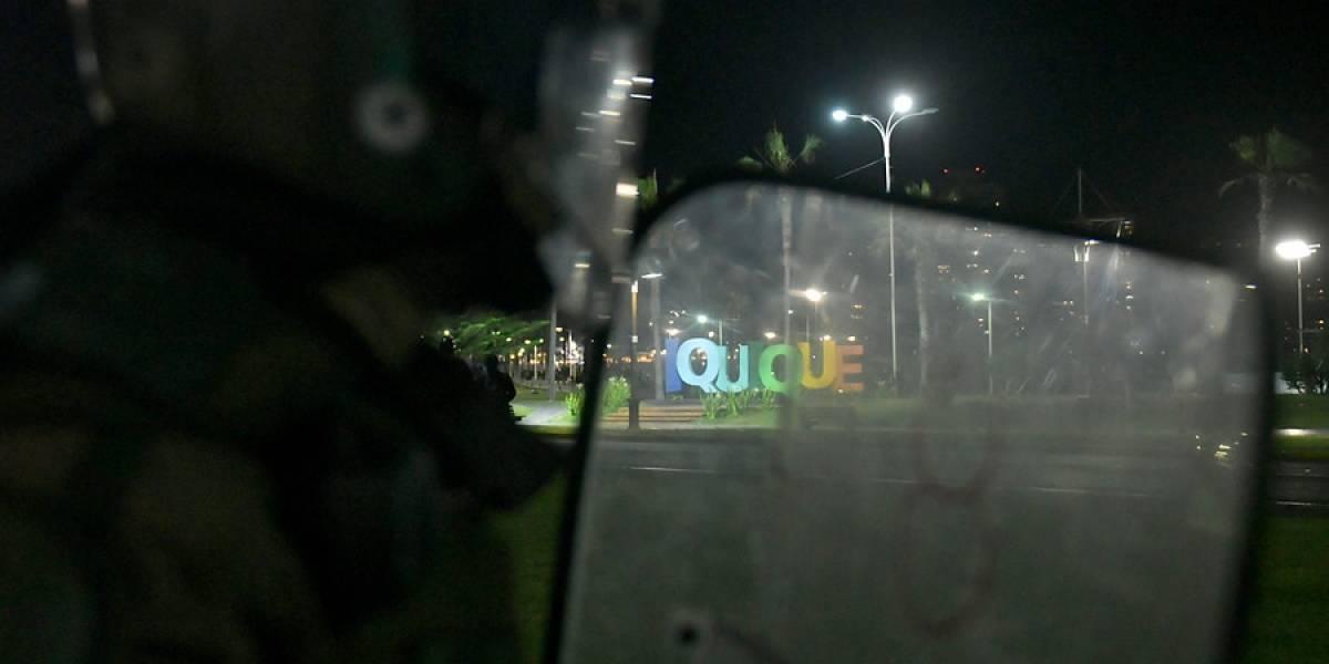 Tribunal decreta prohibición de asistir a manifestaciones a seis personas detenidas por saqueos en Iquique