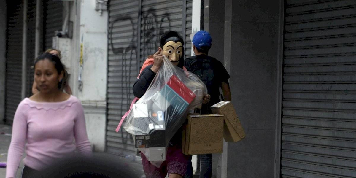 """Vuelco en """"saqueo"""" del supermercado Alvi en Peñalolén: local estaba vacío"""