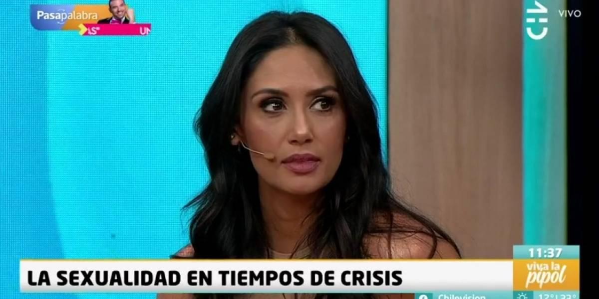 """""""Con esta crisis no dan ganas de…"""": la sincera frase de Pamela Díaz sobre la sexualidad en tiempos de crisis"""