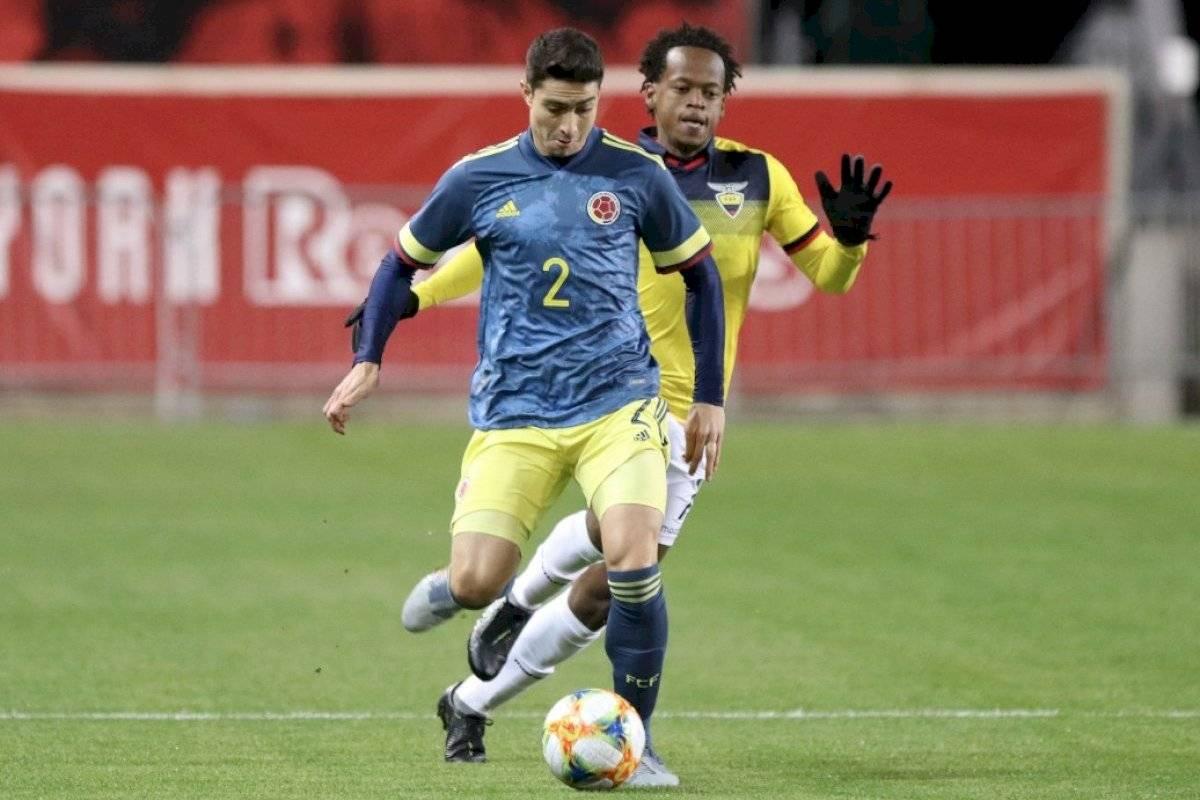 El uno x uno de Colombia vs. Ecuador, en Nueva Jersey