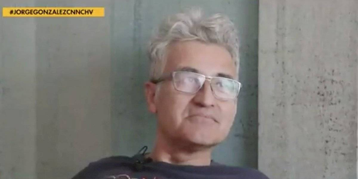 """Jorge González: """"La gente quiere que se vaya Piñera y él se hace el sordo"""""""
