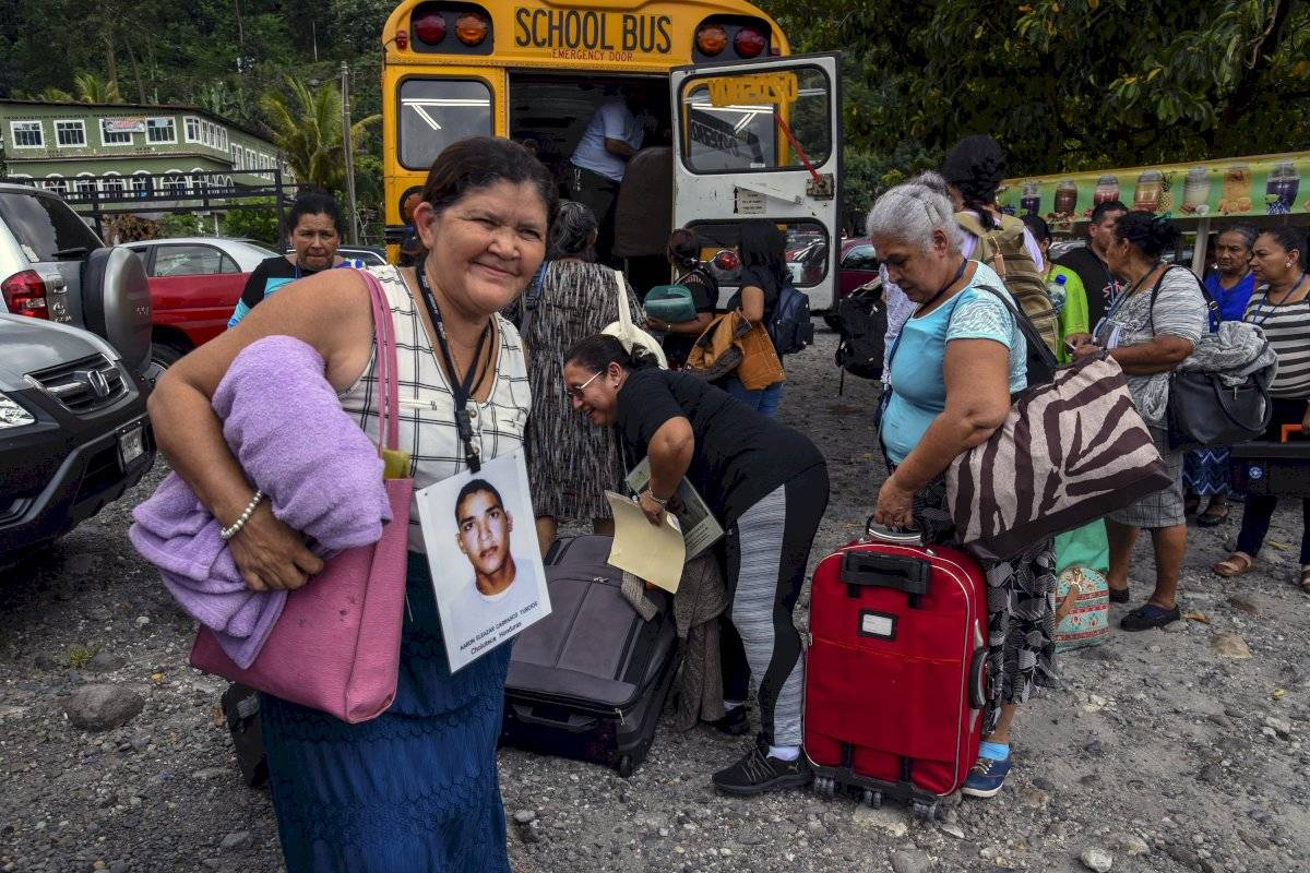 Caravana de centroamericanos llega a