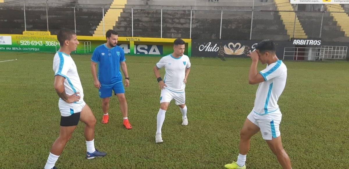 Carlos Gallardo habla de selección nacional