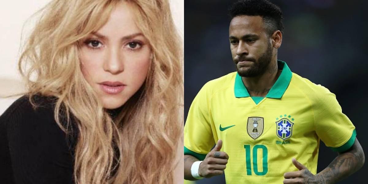 ¡Celos de Piqué! Shakira desata polémica con Neymar por lo que hizo, ¿coqueteo?